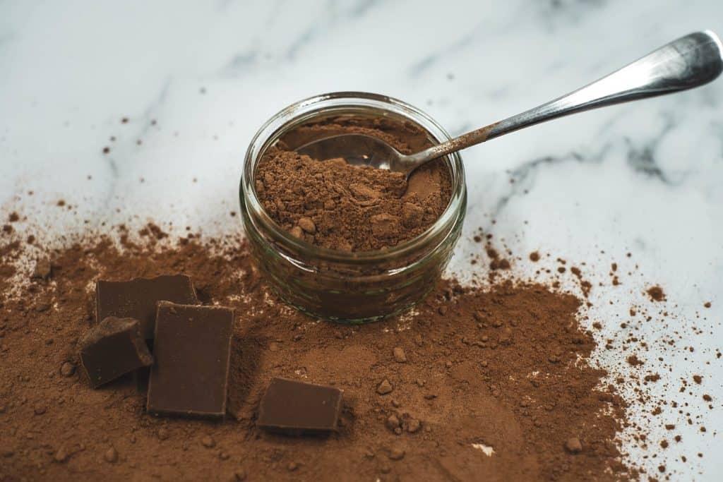 cocoa powder and chocolate